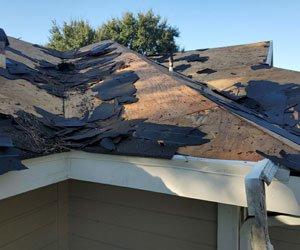 Roof in Galveston Texas