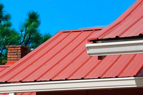 Types of Roof Materials like Metal